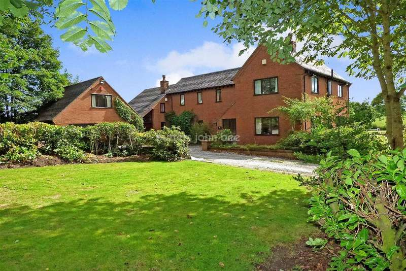 4 Bedrooms Detached House for sale in Nantwich Road, Audley