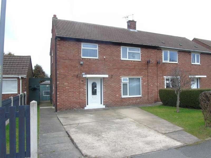 3 Bedrooms Semi Detached House for sale in St. Lawrence Avenue, Bolsover, Chesterfield