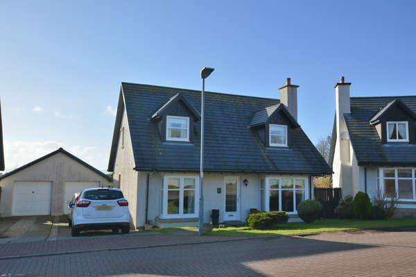 3 Bedrooms Detached House for sale in 6 Ailsa View, West Kilbride, KA23 9GA