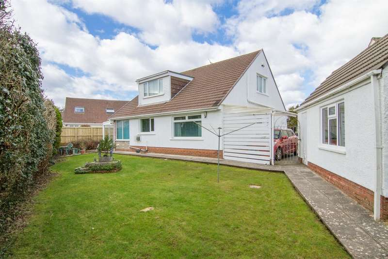 4 Bedrooms Detached Bungalow for sale in Clos Yr Aer, Rhiwbina, Cardiff
