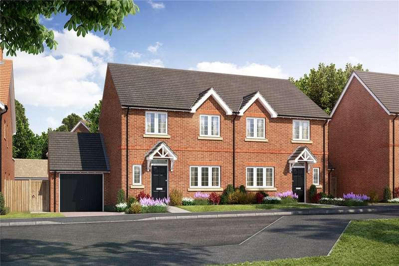 3 Bedrooms Semi Detached House for sale in Plot 102 Hopefield Grange, Littleworth Road, Benson, Oxfordshire, OX10
