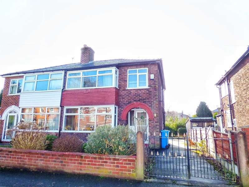 3 Bedrooms Semi Detached House for sale in Ardern Road, Crumpsall, Manchester, M8