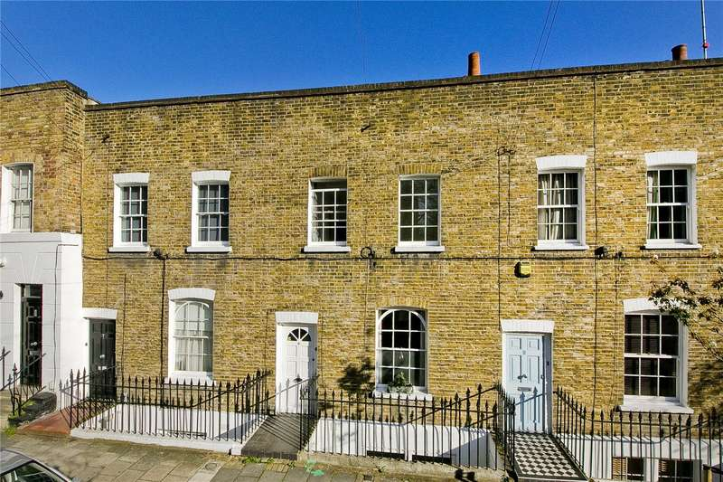 3 Bedrooms Terraced House for sale in Frome Street, Islington, N1