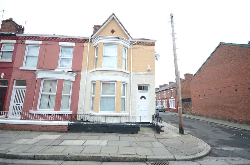 2 Bedrooms End Of Terrace House for sale in Kempton Road, Wavertree, Liverpool, L15