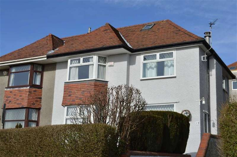 3 Bedrooms Semi Detached House for sale in Lon Cadog, Swansea, SA2
