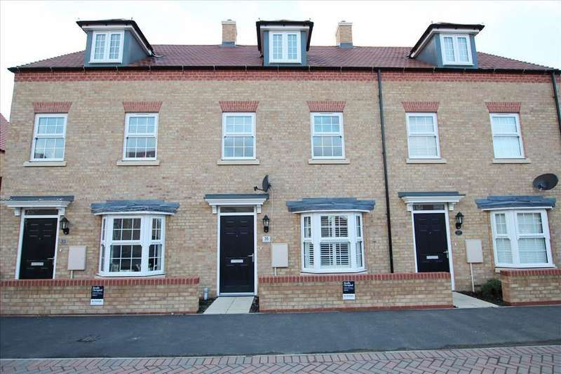 3 Bedrooms Terraced House for sale in Presland Drive, Biggleswade, Biggleswade, SG18