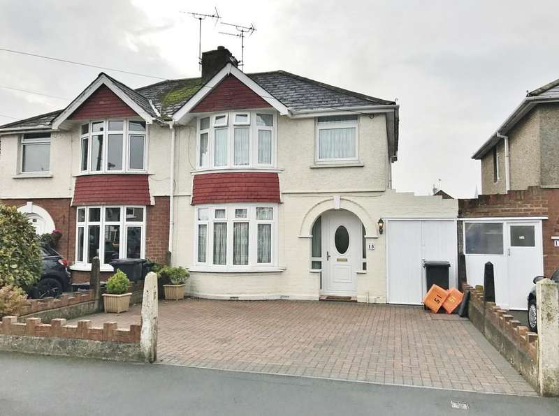 3 Bedrooms Semi Detached House for sale in Bampton Grove, Swindon