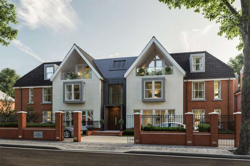 2 Bedrooms Flat for sale in The Halley, Finchley, N3
