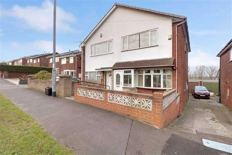 3 Bedrooms Semi Detached House for sale in Bambury Street, Adderley Green