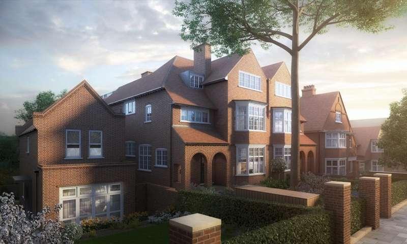 3 Bedrooms Flat for sale in Kidderpore Green, Kidderpore Avenue, Hampstead, NW3