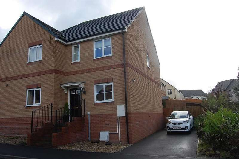 2 Bedrooms Semi Detached House for sale in Ffordd Y Glowyr, Betws, Ammanford