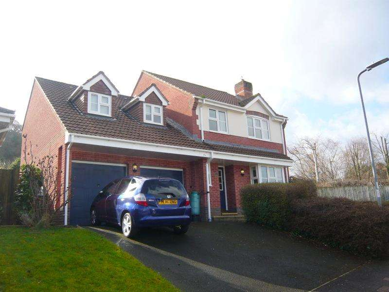 4 Bedrooms Detached House for sale in Ellicombe Meadow, Alcombe, Minehead TA24