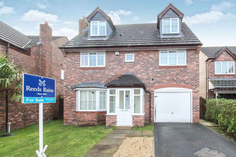 5 Bedrooms Detached House for sale in Clough Road, Halewood, Liverpool, L26