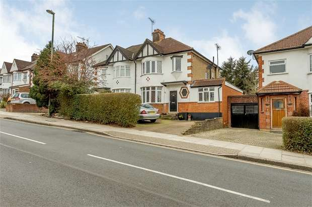4 Bedrooms Semi Detached House for sale in Meadway, Barnet, Hertfordshire