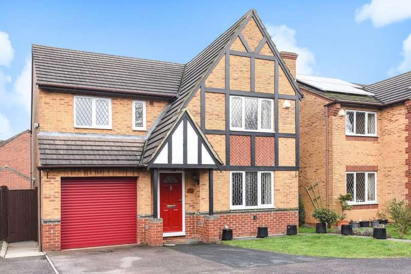 4 Bedrooms Detached House for sale in Jay Close, Langford Village Bicester, OX26