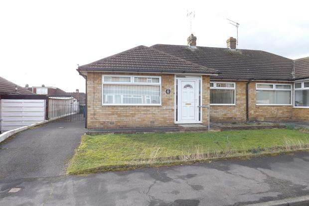 2 Bedrooms Bungalow for sale in Chatsworth Avenue, Radcliffe-on-Trent, Nottingham, NG12