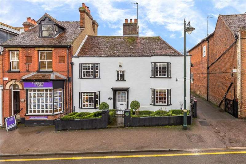 3 Bedrooms Semi Detached House for sale in High Street, Wheathampstead, St. Albans, Hertfordshire