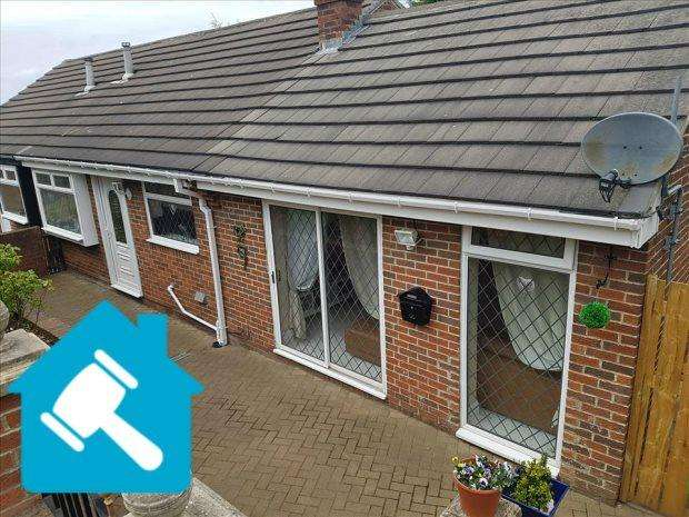 3 Bedrooms Semi Detached Bungalow for sale in RUISLIP ROAD, SOUTH HYLTON, SUNDERLAND NORTH