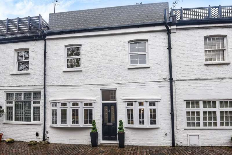 2 Bedrooms House for sale in Wavel Mews, South Hampstead, NW6