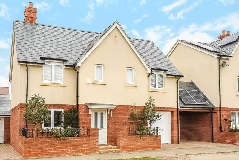 4 Bedrooms Detached House for sale in Berryfields, Aylesbury, HP18