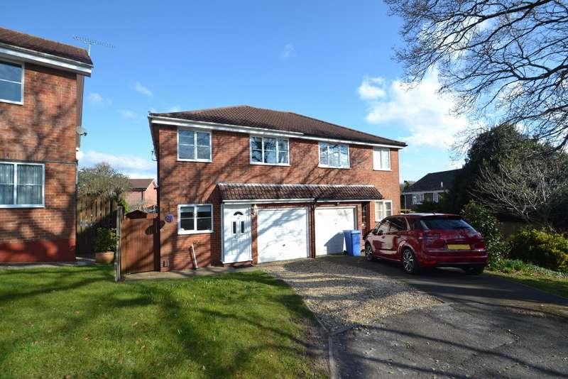 3 Bedrooms Semi Detached House for sale in Creekmoor