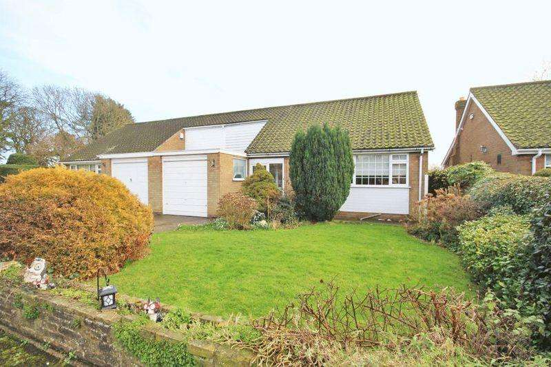 2 Bedrooms Semi Detached Bungalow for sale in CHURCH CLOSE, GRIMSBY