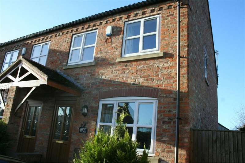 3 Bedrooms Semi Detached House for rent in Main Street, Newton on Derwent, YORK