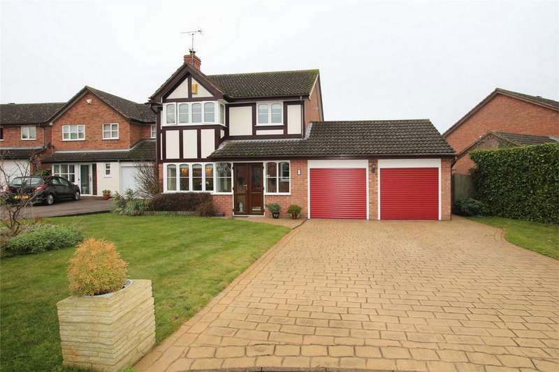 4 Bedrooms Detached House for sale in Epsom Close, Lichfield, Staffordshire