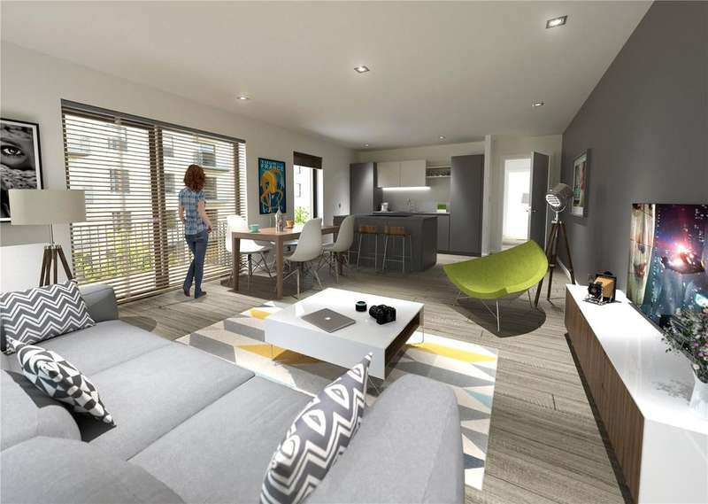 2 Bedrooms Apartment Flat for sale in Plot 19, 2 Bed Apartment, The Ropeworks, Salamander Street, Edinburgh, Midlothian