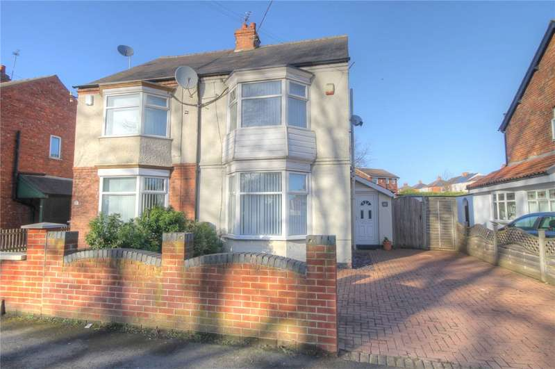 3 Bedrooms Semi Detached House for sale in Whinfield Road, Darlington, DL1