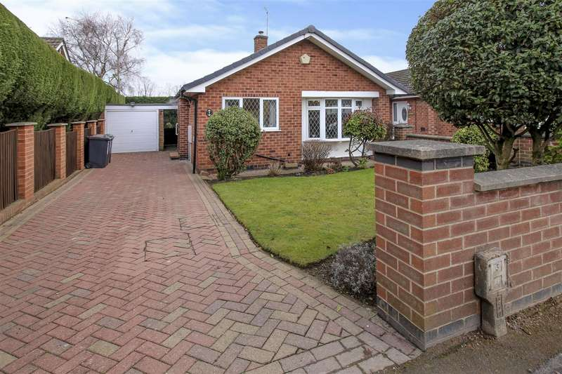 2 Bedrooms Detached Bungalow for sale in Briar Close, Nottingham
