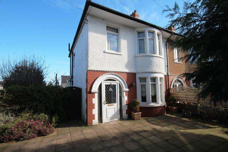 3 Bedrooms Semi Detached House for sale in Manor Way, Whitchurch