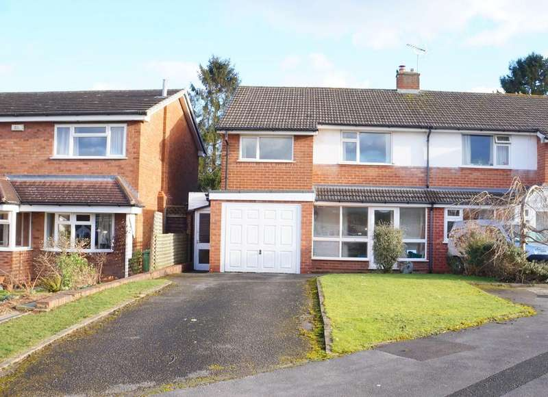 3 Bedrooms Semi Detached House for sale in Chantry Heath Crescent