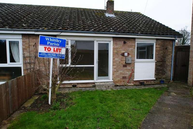 2 Bedrooms Semi Detached Bungalow for rent in Beech Way, Dickleburgh