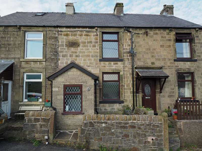 2 Bedrooms Terraced House for sale in Cowlow Lane, Dove Holes, High Peak, Derbyshire, SK17 8DD