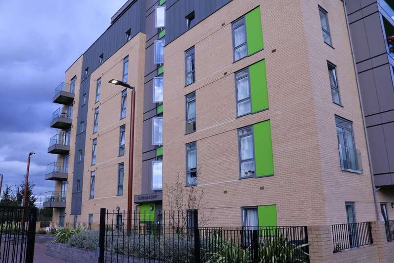 2 Bedrooms Flat for sale in Falcondale Court, Lakeside Drive, London, NW10 7HQ