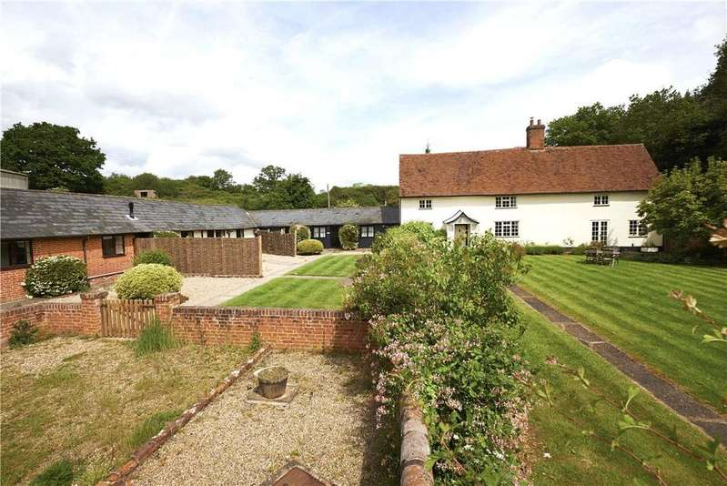 4 Bedrooms Detached House for sale in Holt Road, Polstead, Colchester, Suffolk, CO6