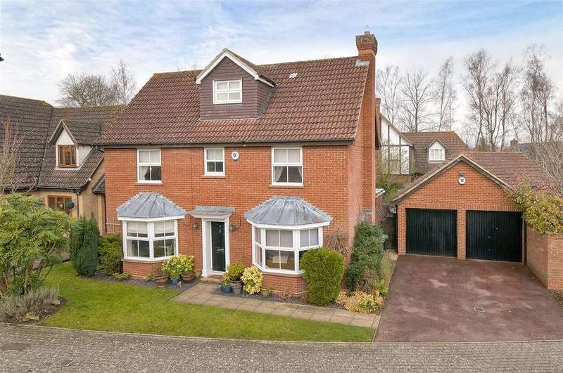 5 Bedrooms Detached House for sale in Lambourne Drive, Kings Hill, ME19 4FN
