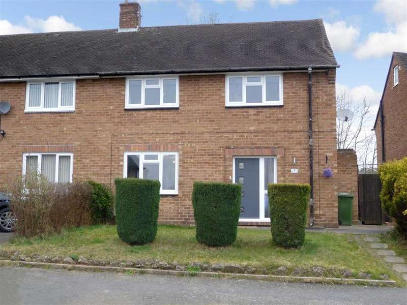 3 Bedrooms Semi Detached House for sale in Winterfold Close, Kidderminster, Worcestershire