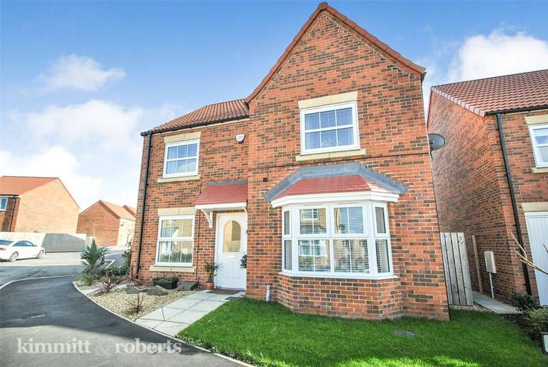 4 Bedrooms Detached House for sale in Goldfinch Road, Easington Lane, Houghton le Spring, DH5