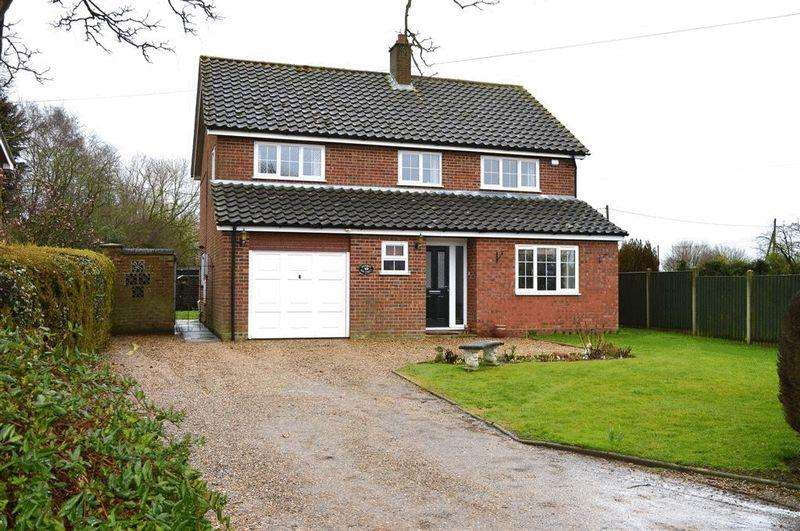 4 Bedrooms Detached House for sale in Bow Street Gt Ellingham