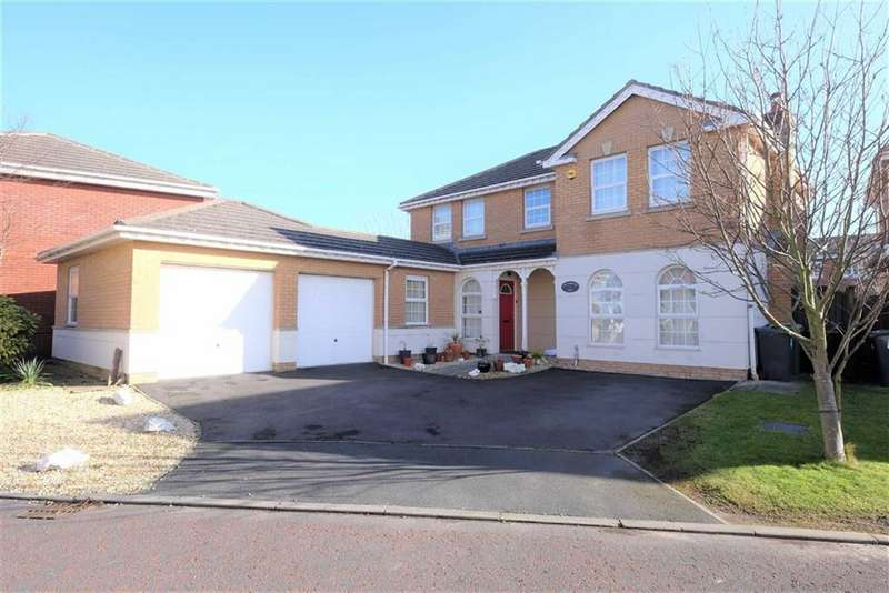 4 Bedrooms Detached House for sale in Blacksmiths Row, Cypress Point, Lytham St Annes