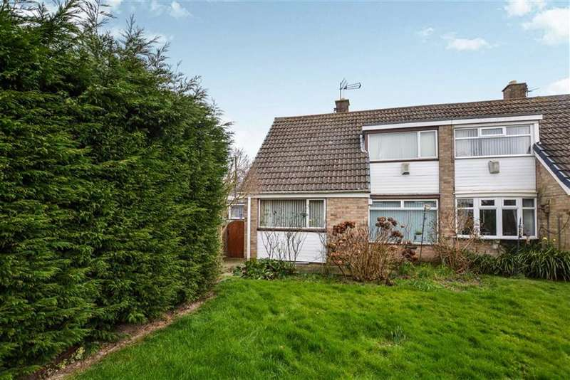 4 Bedrooms Semi Detached House for sale in Gorsedale, Hull