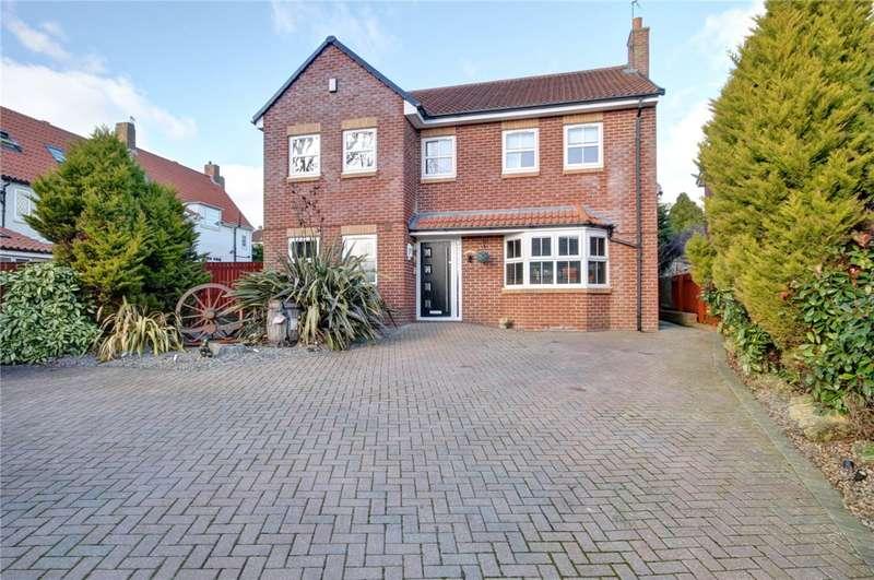 5 Bedrooms Detached House for sale in Bank Top, Bishop Middleham, Durham, DL17