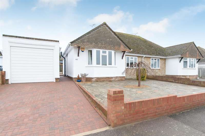 2 Bedrooms Semi Detached Bungalow for sale in Manor Drive, BIRCHINGTON