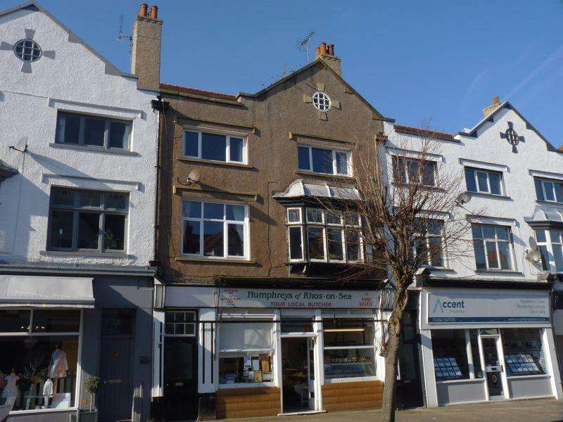 1 Bedroom Apartment Flat for rent in Everard Road, Colwyn Bay, LL28 4EY