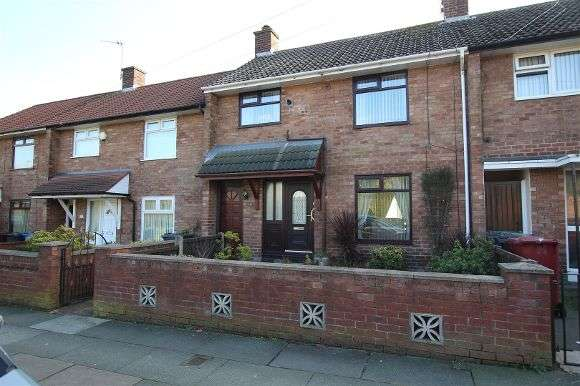 3 Bedrooms Terraced House for sale in 148 Salerno Drive, Huyton, Liverpool