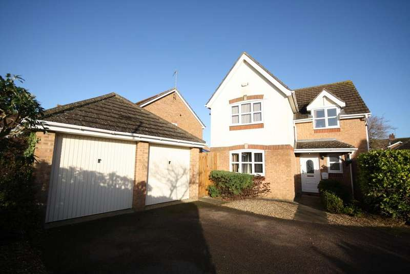 4 Bedrooms Detached House for sale in Dundee Drive, Stamford