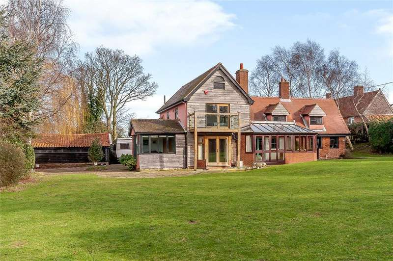 5 Bedrooms Detached House for sale in Thorpe Lane, Trimley St. Martin, Felixstowe, Suffolk