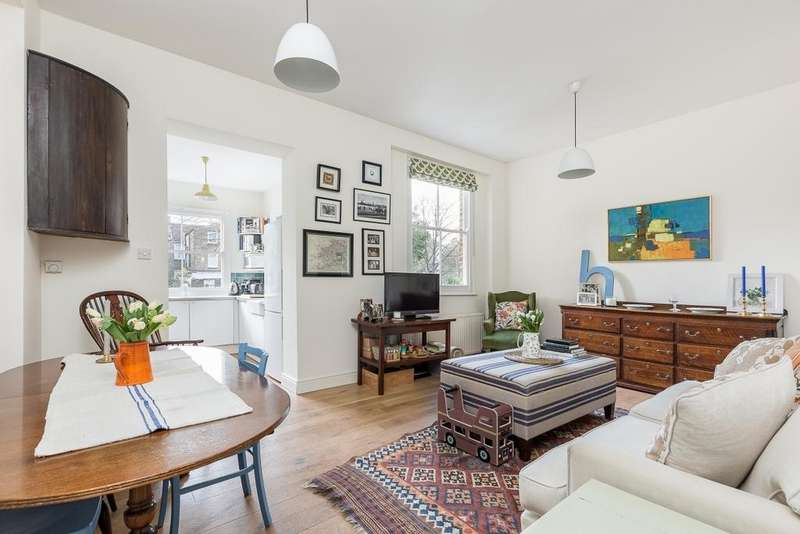 2 Bedrooms Ground Flat for sale in Loftus Road, London, W12